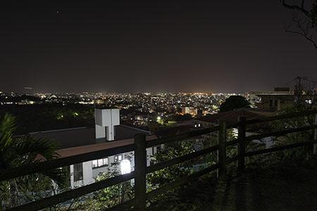 崎山公園の夜景