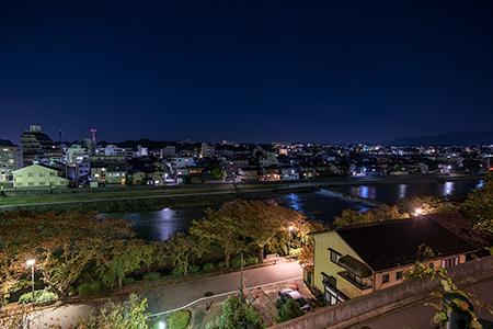 桜坂の夜景