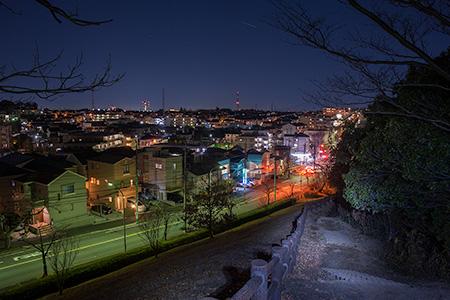 桜台公園の夜景
