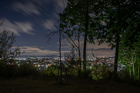 桜井公園の夜景