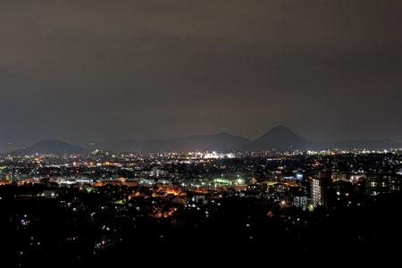 桜の森高原の夜景