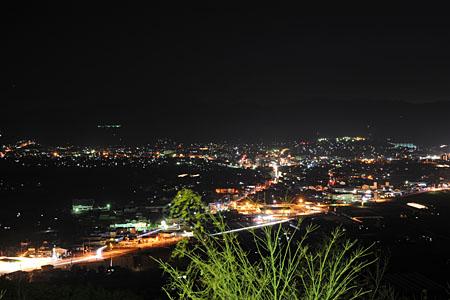 桜の里公園の夜景