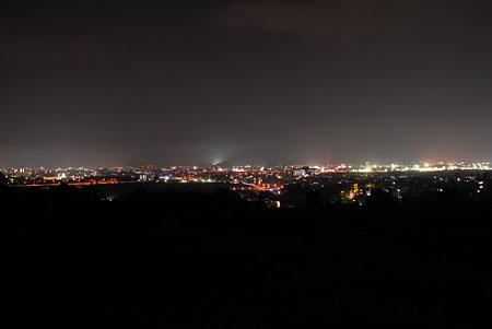 鳥取砂丘の夜景