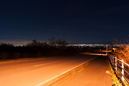 サンデンフォレストの夜景