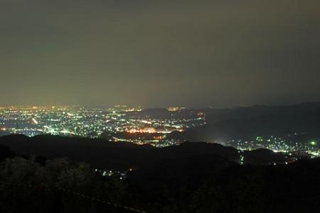 三ヶ根山スカイライン 岡崎側の夜景