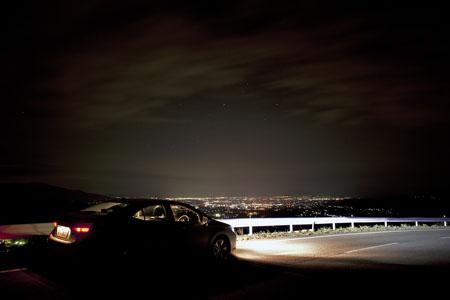三ノ倉の夜景