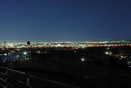 三之宮の夜景