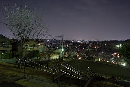 山王塚公園の夜景