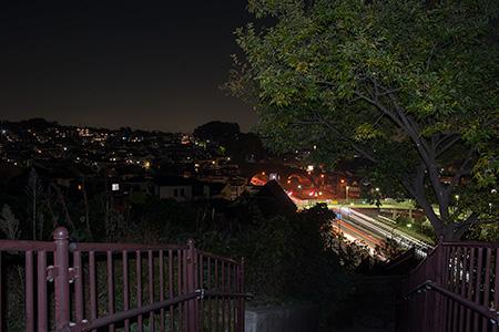 笹下中央公園の夜景