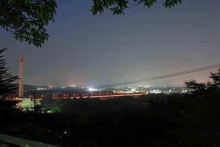 滝山台見晴公園の夜景