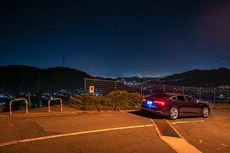 清風台の夜景