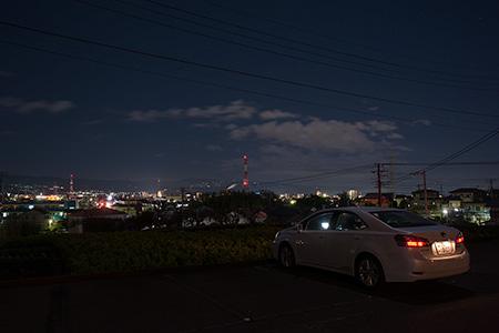 西願寺の夜景
