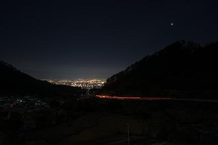 積翠寺の夜景