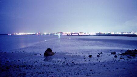 瀬長島の夜景