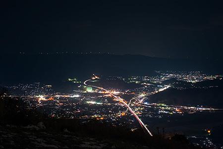 千葉山の夜景