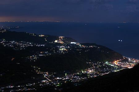 浅間山フライトエリアの夜景