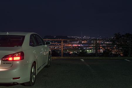 戦場ヶ原公園の夜景