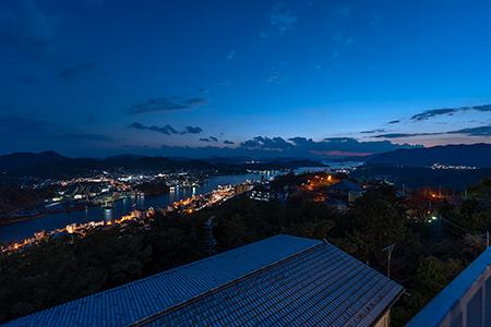 千光寺展望台の夜景