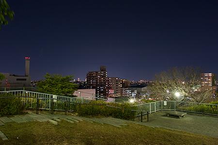 千句塚公園の夜景