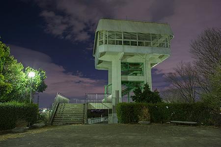 千里中央公園の夜景