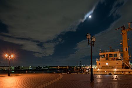 泉大津マリーナの夜景