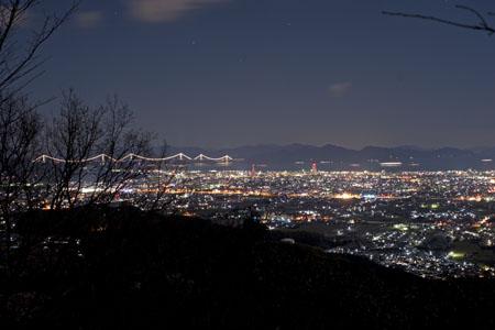 仙遊寺の夜景
