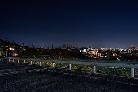 瀬戸ハイム第一児童遊園地の夜景