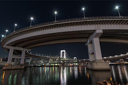 芝浦ふ頭の夜景