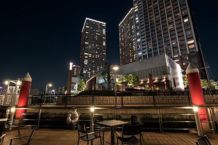 芝浦アイランド ランチポートの夜景