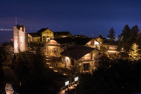 六甲枝垂れの夜景