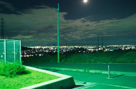 信貴山グラウンドの夜景