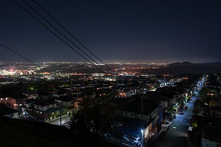 信貴ヶ丘の夜景