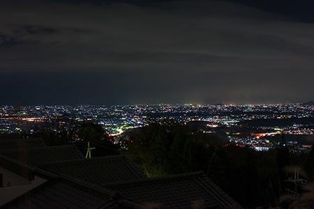 信貴公園の夜景