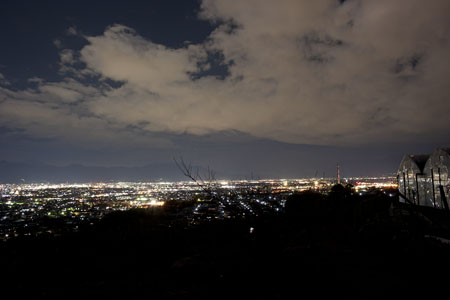 敷島総合公園の夜景