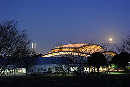 清水ヶ丘公園の夜景