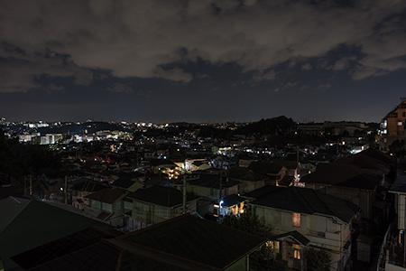 下倉田脇谷公園の夜景