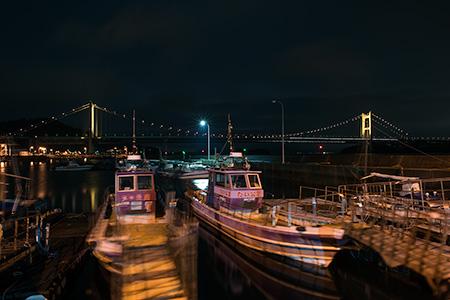 下津井港の夜景