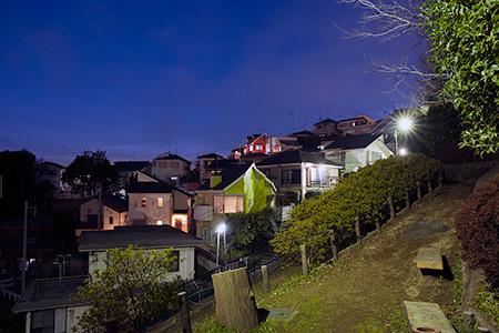 神木本町緑地の夜景