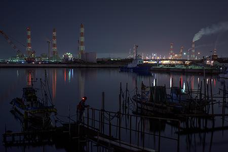 新浜の夜景