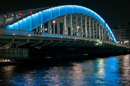 新川公園の夜景