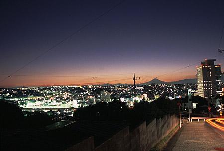 真光寺付近の夜景