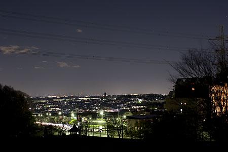 真光寺公園の夜景