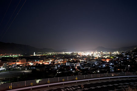 道の駅 みはら神明の里の夜景