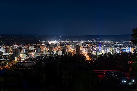 夜景100選「信夫山」