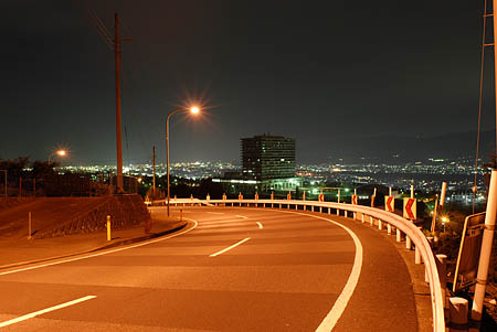 篠窪の夜景