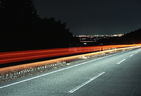 松阪森林公園の夜景