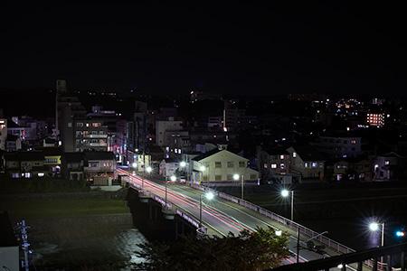 新桜坂緑地の夜景