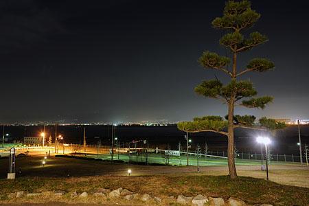 新夕陽ヶ丘の夜景