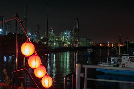 汐留橋の夜景
