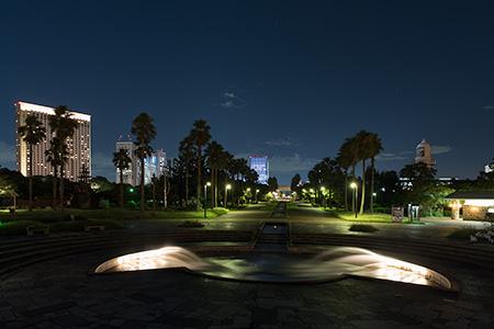 潮風公園 南コーストデッキの夜景